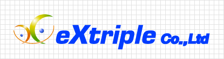 3D 가로형 로고 - 영문